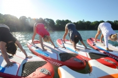 SUP Yoga Starnberger See3