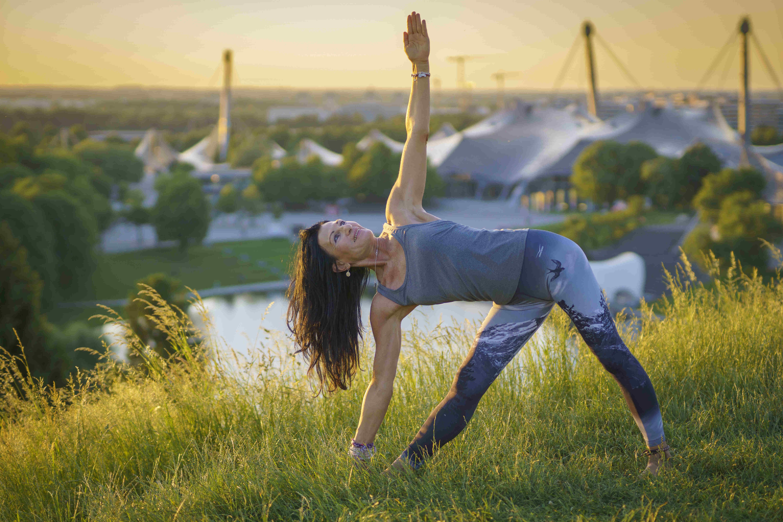Fernsehturmfotos Yoga Asana 5