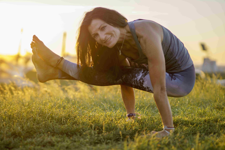 Fernsehturmfotos Yoga Asana 7