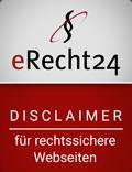 Siegel der Anwaltskanzlei e-Recht24